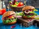 Рецепта Домашни веган бургери / кюфтета от червено цвекло, леща и елда
